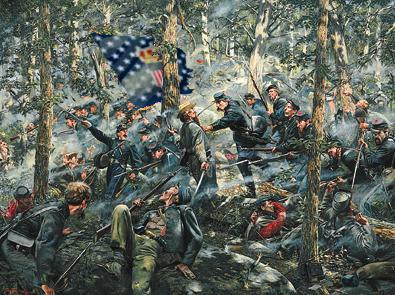 Kennesaw Mountain 1864 - battaglia nel bosco