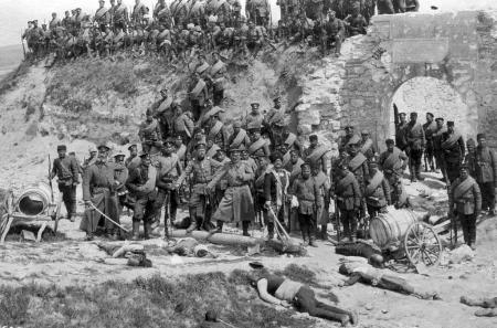 Esecuzione di civili a Edirne durante l'occupazione bulgara