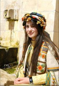 Kurdistan - ragazza yazida