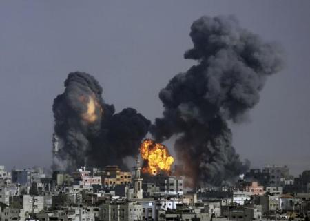 Raid su Gaza - Foto de 'IlSecoloXIX'