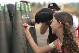Saluto dei bimbi israeliani ai bimbi palestinesi