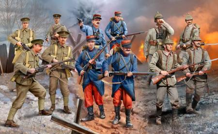 WW-I soldiers